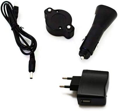 Power Flare Cargador Set LED USB 12V 220V Single LED