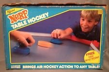 Official Nerf Table Hockey Vintage 1987 80's (Nerf Vintage compare prices)