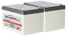 SU1500RMX155 Compatible Replacement Battery Kit APC Back-UPS 1500 Rack Mount