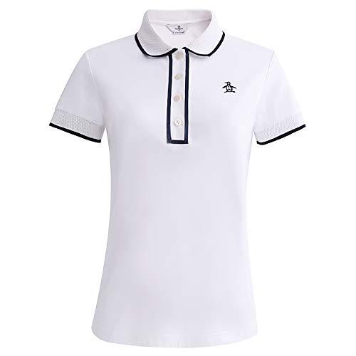 マンシングウェアワンXingweiラペル半袖Tシャツゴルフ新ポロシャツを着用   B07RXBWTC3