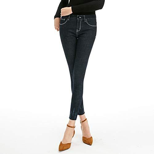 sottili blue XS alta da piccoli jeans jeans elastici donna donna e vita MVGUIHZPO Deep L Nuovi ed jeans wqa4PS0Z