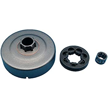 Tuzliufi Clutch Drum Sprocket Rim Needle Bearing Replace Stihl 017 018 019 021 023 025 MS170 MS180 MS210 MS230 MS250 MS251 Chainsaw 0000 642 1240 9512 933 ...
