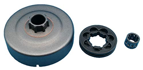 Tuzliufi Clutch Drum Sprocket Rim Needle Bearing Replace Stihl 017 018 019 021 023 025 MS170 MS180 MS210 MS230 MS250 MS251 Chainsaw 0000 642 1240 9512 933 2260 9460 624 0801 3/8