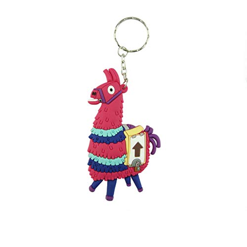 Price comparison product image Fortnite Double Sided 3D PVC Keychain 3.75 Inches (Llama)