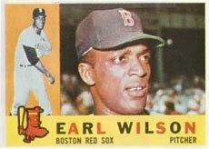 1960 Topps Regular (Baseball) Card# 249 Earl Wilson of the Boston Red Sox VG Condition ()