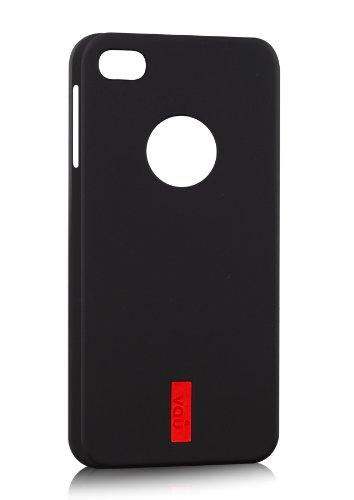 vau SoftGrip Black - Premium Silikon-Tasche, Case für Apple iPhone 5S & iPhone 5