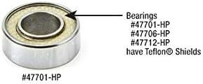 47796 Steel Ball Bearing Guide 7//8 Overall Dia x 1//4 Inner Dia x 9//32 Height Amana Tool
