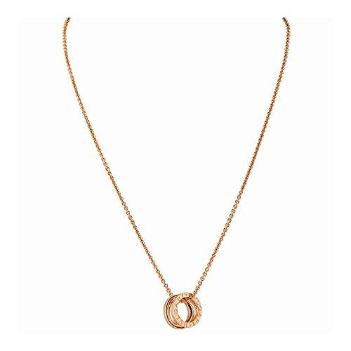 Bvlgari Bvlgari B.Zero1 18K Rose Gold (Bvlgari Rose Necklace)