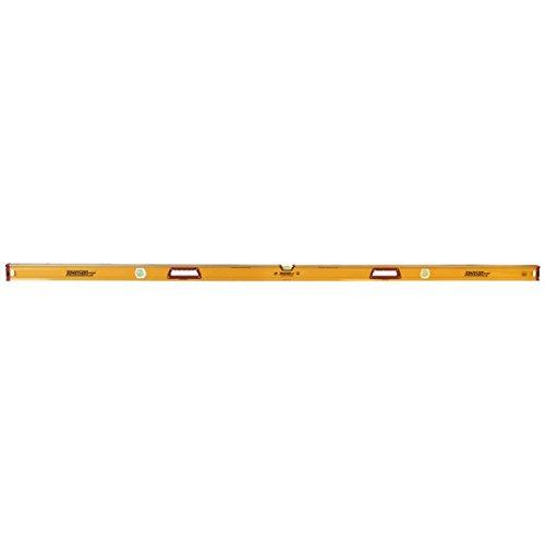 JOHNSON 1718-7800 Box Level,Aluminum,78 in L,Yellow