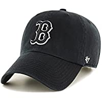 fan products of '47 Brand MLB Boston Red Sox Clean Up Cap - Black