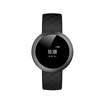 Antech Smart Watch , Bluetooth Wireless Heart Rate Monitor Smart Watch Outdoor Fitness Tracker Pedometer Smart Bracelet Wristband Support for IOS Android Smart Phones