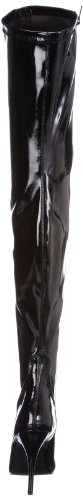 Boots Pleaser 3000 Seduce Patent Black Womens qtSAPA