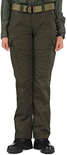 Women's Twill PDU Class B Pants, Sheriff Green