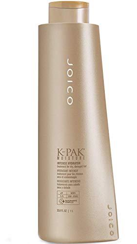 (Joico K-PAK INTENSE HYDRATOR Treatment for Dry, Damaged Hair Bio-Advanced Peptide Complex (33.8 oz/1000 ml - Large Liter) )