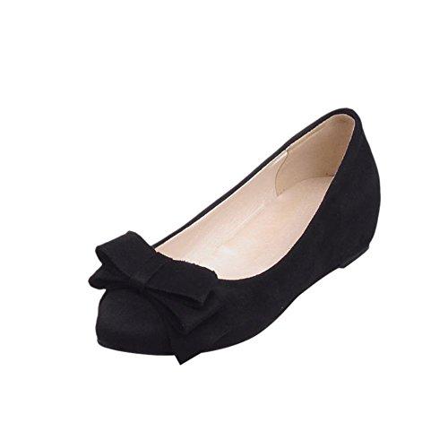 Mostrar Zapatos De Mocasín De Tacón Alto Shine Mujer's Fashion Sweet Bow Ocultos
