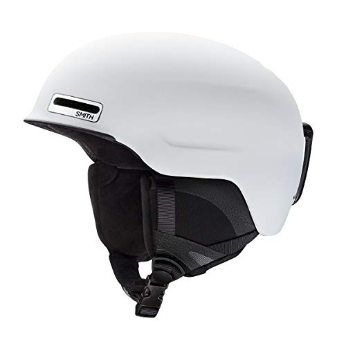 Smith Optics Maze - Asian Fit Adult Ski Snowmobile Helmet - Matte White/Large