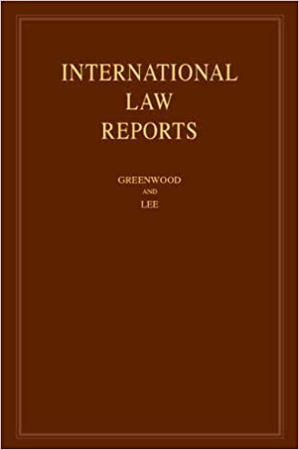 International Law Reports: Volume 177: Christopher Greenwood