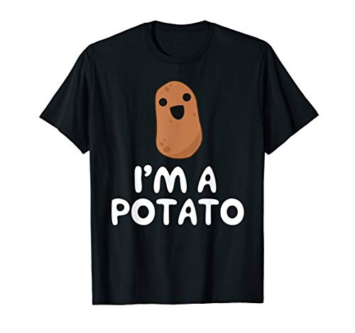 Girls Potato - I'm A Potato - Funny Potato Shirt, Vegetable Food Gag Gift