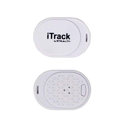 Stealth iTrack Buscador de Llave – Localizador de Teléfonos – Encuentre Llaves, Teléfonos y Artículos Perdidos – Alarma…