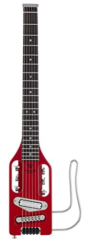 Traveler Guitar Ultra-Light 6 String Solid-Body Electric Guitar, Torino Red (ULE TRDG)