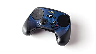 Steam Controller Skin - CSGO Blue Camo (B01M2XM0QT) | Amazon Products