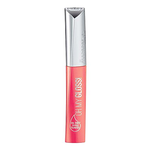 Rimmel Oh My Gloss! Oil Tint, Contemporary Coral, 0.21 Fluid