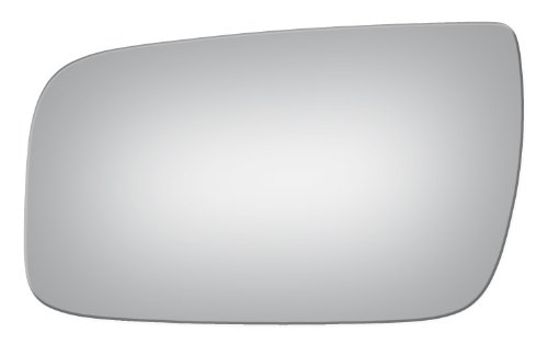 2008-2009 Ford Taurus Power, Flat, Driver Left Side Replacement Mirror Glass