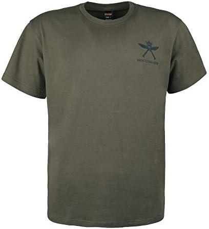 EXCELLENT ELITE SPANKER メンズ tシャツ 半袖 イギリスライフル連隊の図案 ジョギングtシャツ メンズ 抗菌防臭 半袖tシャツ メンズ 夏服 着心地がいい