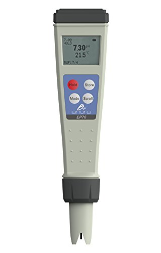 Anura Lab Quality Combo Pocket Size Digital pH, Salinity, TDS, EC & Temperature Meter Tester For Hydroponic Use | Drinking Water | Pool & Spas | Freshwater Aquariums | .01 pH Resolution by Anura