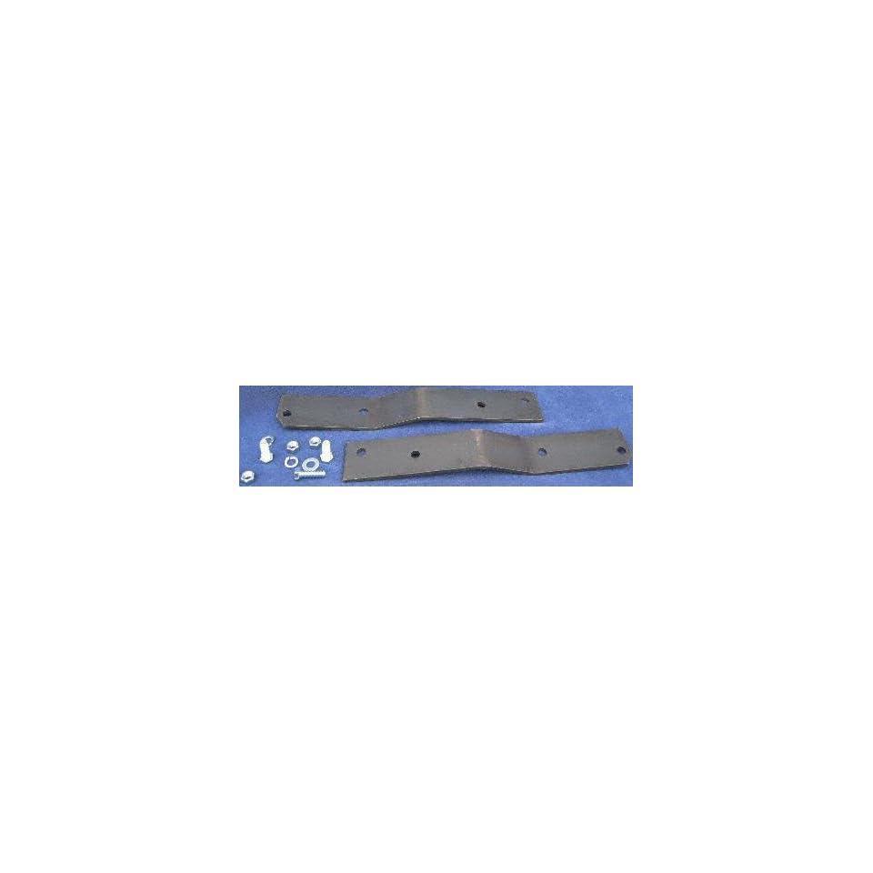 67 72 CHEVY CHEVROLET FULL SIZE PICKUP fullsize STEP BUMPER MOUNT KIT TRUCK, Fleetside, For Surestep XLT type bracket, LONG BED ONLY (1967 67 1968 68 1969 69 1970 70 1971 71 1972 72) WE 92500 GM116510