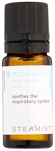 - Steamist AS5-10 Respiratory 100-Percent Essential Oil, 10ml
