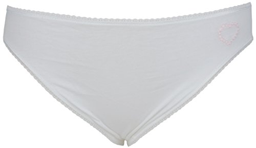 6bordado algodón Jersey alta pierna Knickers