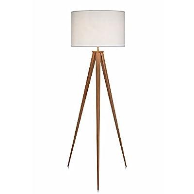 """Teamson Design VN-L00007 Versanora - Romanza 60.23"""" Tripod Floor Lamp Reading Light for Living Room Bedroom"""