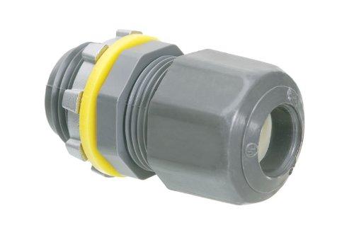Arlington LPCG757-1 Low Profile Strain Relief Cord Connector, 3/4 Inch