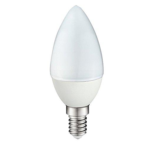 Wonderlamp W-B000046 - Bombilla LED SMD vela Rosca E14 alta potencia, 4 W