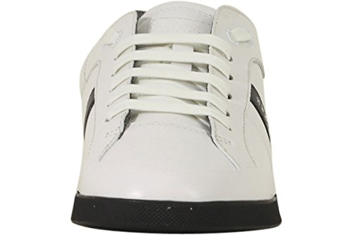 Leather Men's Green White Hugo Boss Tenn Sneaker Shuttle BOSS CYwOq