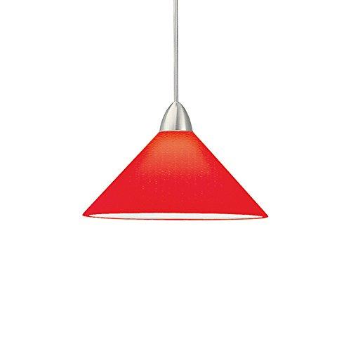 Red Aluminum Pendant Light - 7