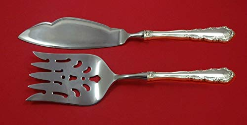 Shenandoah by Wallace Sterling Silver Fish Serving Set 2 Piece Custom Made HHWS