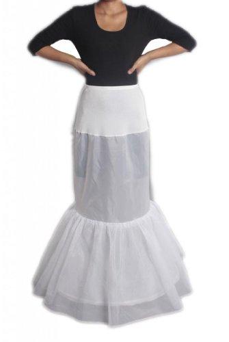 LuYan - Enaguas enteras - para mujer blanco