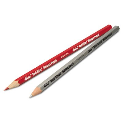 (Red-Riter Woodcase Welder's Pencil, Sold as 12 Each)