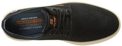 Skechers STATUS- BORGES, Zapatillas de Deporte, Hombre Black