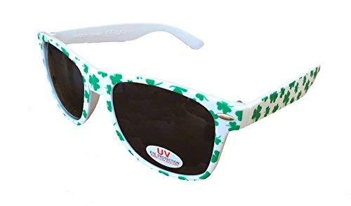 SoRock St. Patricks Day Shamrock Sunglasses Adult One Pack -