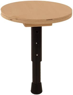 Round Seat Height Adjustable T-Stool