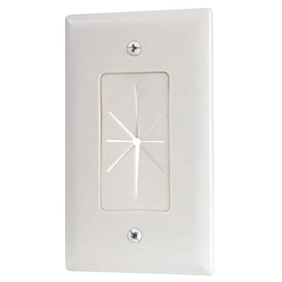 Audiovox VH64R Pass Through Wall Plate