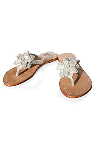 CARTIER Jewelry Sandals Pasha, Bora Bora (7) Silver