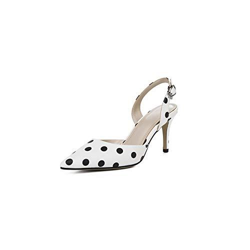 MENGLTX High High Heels Sandalen Mode Vintage Suu ;szlig;e Frauen Sandalen Neue Ankunft Spitz High Heels Party Schuhe Fruu ;hling Sommer Grundschuhe Frau  im Angebot
