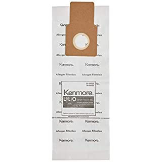 Kenmore 50105 8 Pack Upright Vacuum Bags For U/L/O Style Vacuums