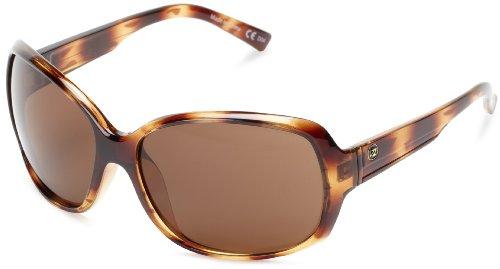 VonZipper Ling Ling Oval Sunglasses,Demi & Tortoise,One Size