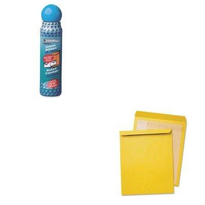 KITQUA42353QUA46065 - Value Kit - Quality Park Jumbo Size Kraft Envelope (QUA42353) and Quality Park Envelope Moistener w/Adhesive (QUA46065)