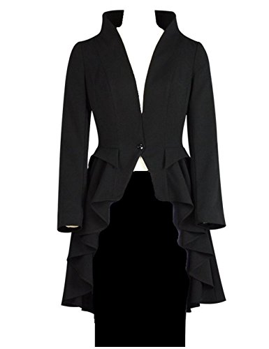 Ruffle Collar Jacket - 1
